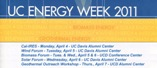 UC Energy Week 2011